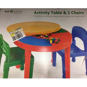 Mesa De Actividades Y Legos Para Niños Nueva