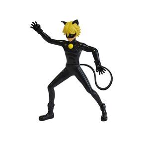 Miraculous Em Acao - Boneco Cat Noir Sunny Brinquedos