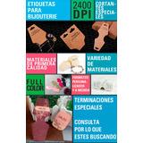 Etiquetas Colgantes Ropa Bijouterie Aros Pulseras Collares