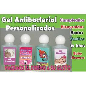 Recuerditos Gel Antibacterial Personalizado,babyshower 15año