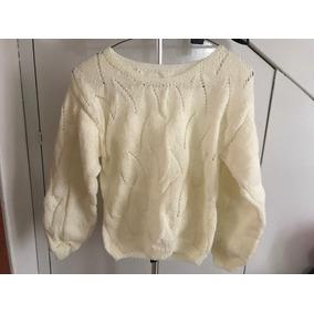 Suéter Tejido A Mano Para Niña