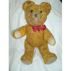 Antigo Urso Ursinho Ted Brinquedos Estrela