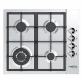 Tope Cocina Empotrar Gas Premium 60 Cm Acero Inox Pbs762