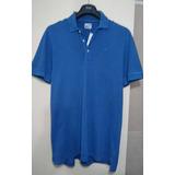 Exclusiva Polera Lacoste, Color Azul (ref.$49.990)
