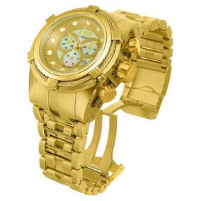 Relógio Invicta Bolt Zeus 12738 Dourado + Caixa.