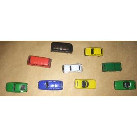 Lote 9 Automóveis Miniaturas Gulliver Antigo Raro Brinquedo
