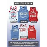 Puerto Leon : Remeras, Musculosas Y Bermudas.