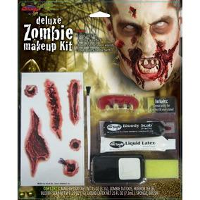 Maquillaje Fantasia Halloween Zombie Deluxe