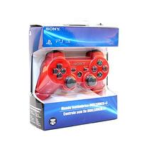 Controle De Ps3 Dualshock Wirelless - Vermelho