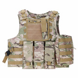 Chaleco Táctico Militar Airsoft Paintball Cp Camouflage
