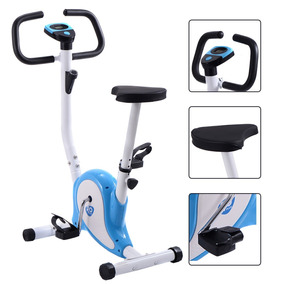Bicicleta Estacionario Fitness Cardio Aerobic Gym Azul