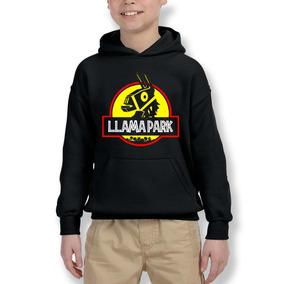Polerón Hoodie Fortnite Llama Park, Jurassic Park Canguro