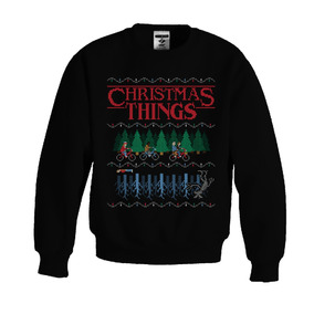 Sudadera Navideña - Stranger Things (christmas Things)