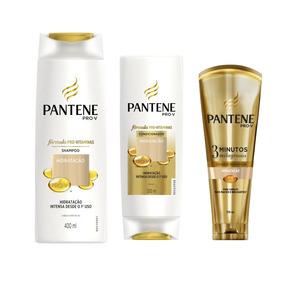Kit Pantene Hidratação Sh + Cond + 3 Min Milagrosos