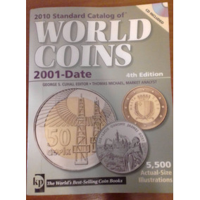 Catalogo Monedas World Coins 2001-date 4 Edicion Krause + Cd