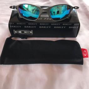Square Red Oakley Lente Azul Juliet - Óculos De Sol Oakley Juliet ... 7fec46bdef