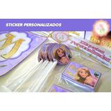Stickers Personalizados Candy Bar Listos P/pegar
