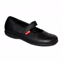 Zapatos Guillermina Colegial Marcel Cuero34/40 Niz´scalzados