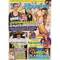 Tv Y Novelas - Laura Tobón - Papa Francisco - Mayra Rojas