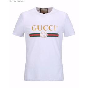 Gucci Hombre Ropa Camiseta Jersey Algodón + Envío Gratis