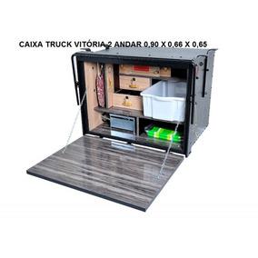 Caixa De Cozinha Caibi Caminhão Truck Vitória 2 Andar