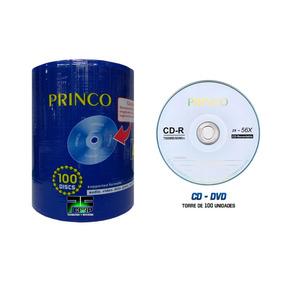 Cd Princo 100 Unidades