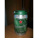 Barril De Cerveza Heineken Vacio De 5 Litros Importado