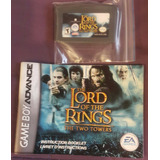 Lord Of The Rings Two Towers + Manual / Gameboy Advance Gba