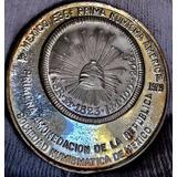 Medalla Soc Numismatica Aguila Perfil Excelente 1979 Plata