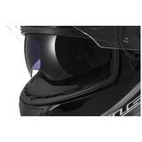 Casco De Motocicleta Ls2 Helme Ts Con Parasol (negro) Large