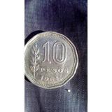 Moneda De 10$ Argentinos De 1964