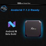 Deco Iptv Smart Tv Box Android 7 7.1.2 X96 Mini Envio Gratis