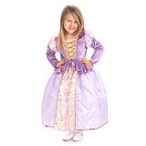 Disfraz De Little Adventures Classic Rapunzel Princess Para.