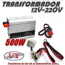 Transformador Inversor 12v / 220v 500 - 1000 Watts Oferta