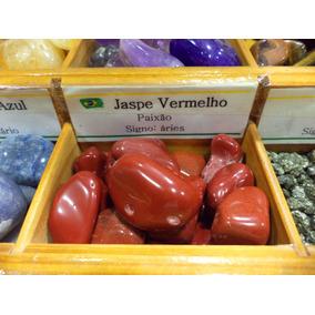 Pedra Do Signo Áries - Jaspe Vermelho Natural Rolada / 2cm