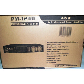 Planta Amplificador De Sonido De Casa Lsv Pm-1240