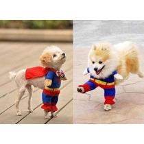 Disfraz De Superman Para Perro Mascotas Chico.
