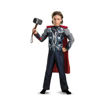 Disfraz Thor Con Musculo Niño Talla 4-6 Envio Gratis!!