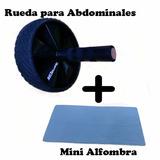Rueda Abdominales Poderosos Gimnasio + Mini Colchoneta.