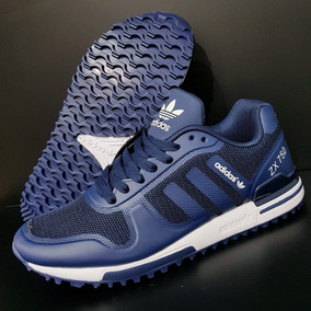 low priced 4b68f 5beba Tenis Zapatillas adidas Zx 750 Azul Hombre Envio Gratis