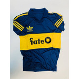 Camiseta Retro Boca Juniors Titular 1986 Fate O