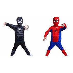Disfraz Halloween Niño Spider Man Hombre Araña 4-5 Años