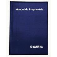 Capa Porta Manual Proprietário Yamaha Moto Pvc