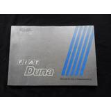 Fiat Duna 1993 1994 Libro Manual Instrucciones Guantera