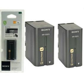 Kit 2 Baterias Sony Np-f970 Original Lluminador Led F770