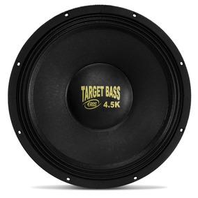 Alto Falante Subwoofer Eros E15target Bass 4.5k 15 Polegadas