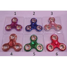 Fidget Spinners Anti Stress Peão De Mão Metal Lançament Hand