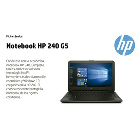 Laptop Hp G5 C. Dual Core+ Ram 4gb+ Disco 500gb