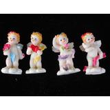 Angelitos De Porcelana Souvenirs X 10 Unidades Divinos