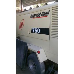 Compresor Ingersoll Rand 750 Con Motor Cummins 6 Cilindros